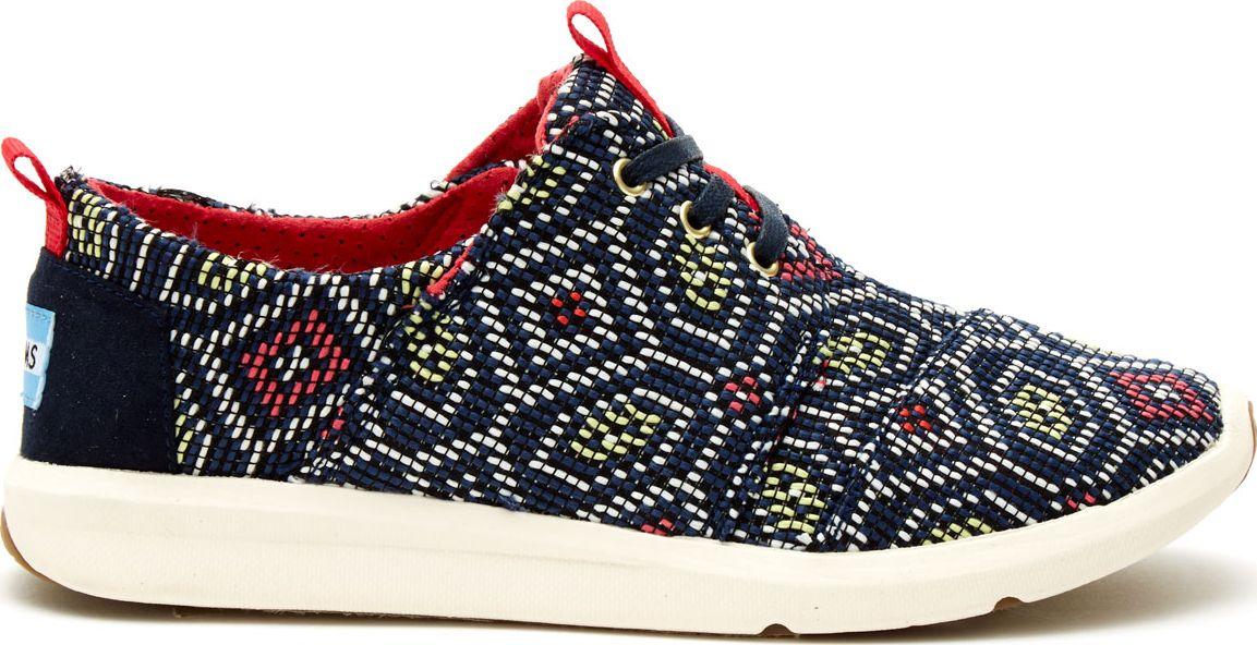 TOMS Woven Women's Del Rey Sneaker Navy/Multi 36,5