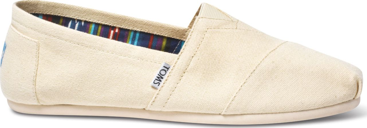 TOMS Canvas Men's Classic Alpargata Nl Natural 43