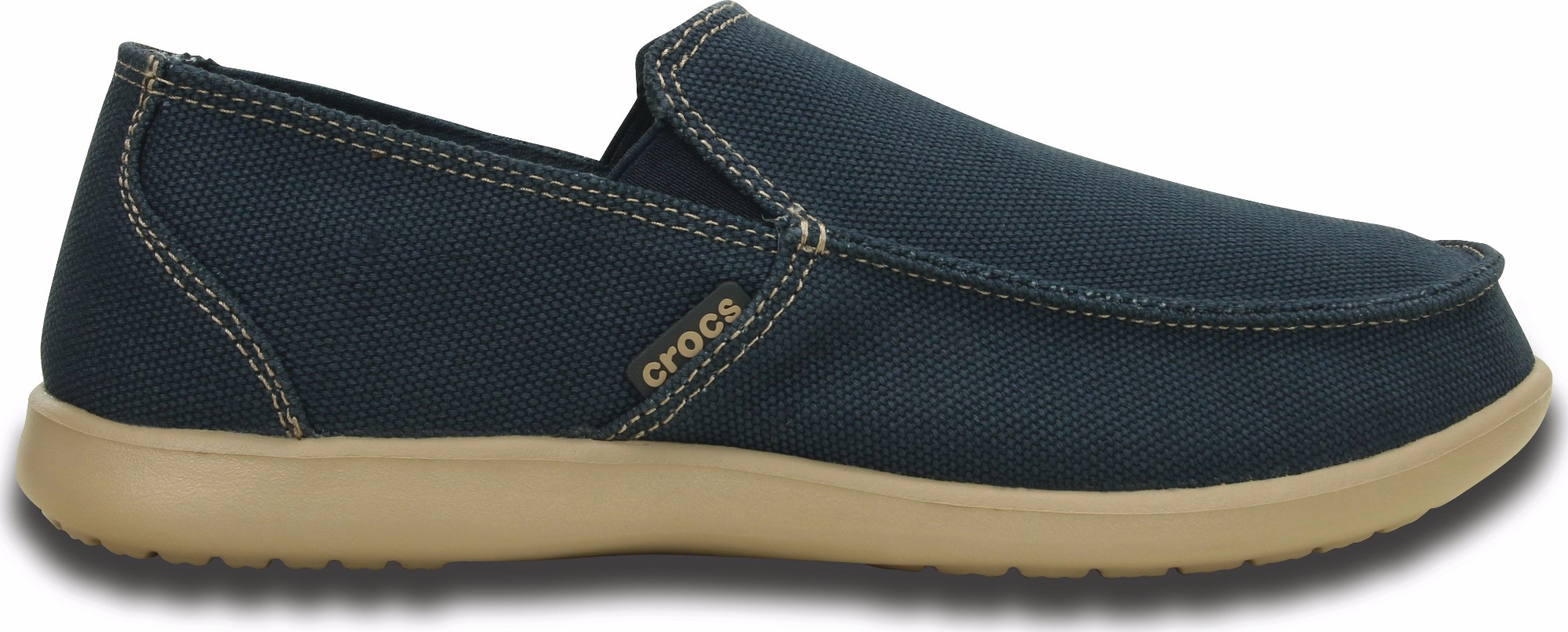 Crocs™ Santa Cruz Clean Cut Loafer Navy/Tumbleweed 43,5