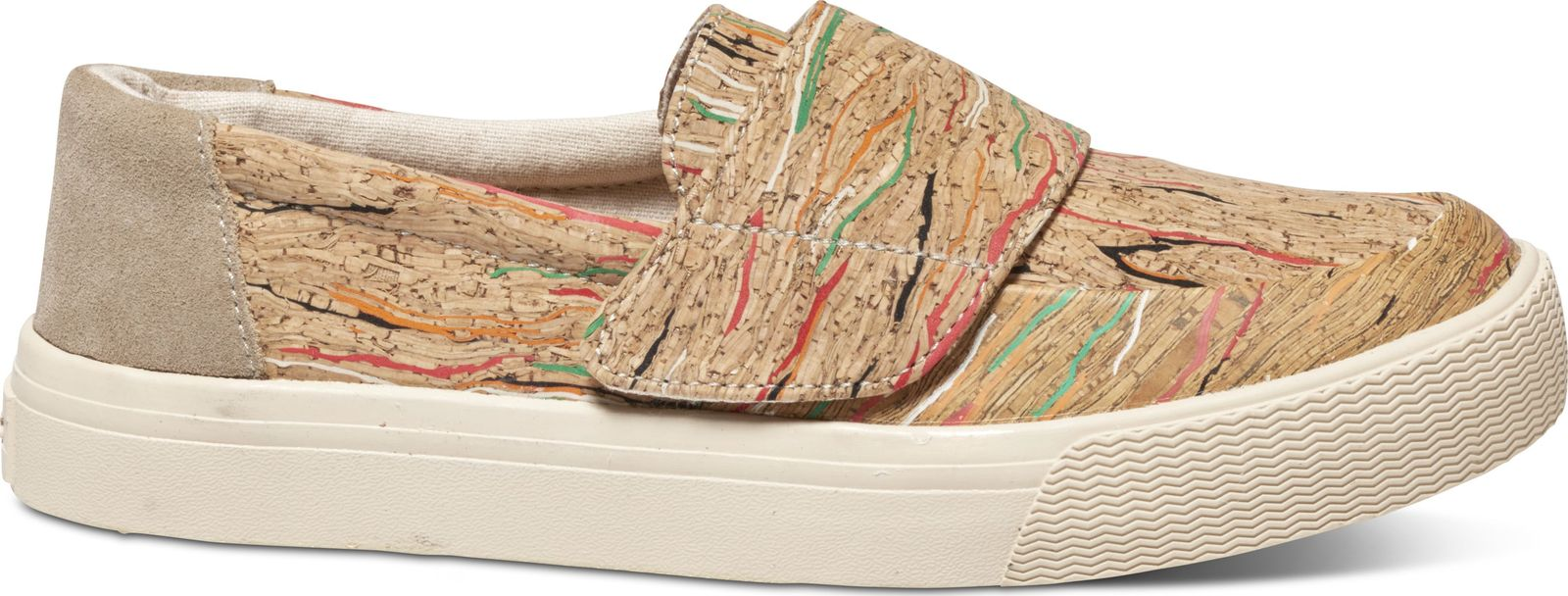 TOMS Cork Women's Altair Slipon Multi 38