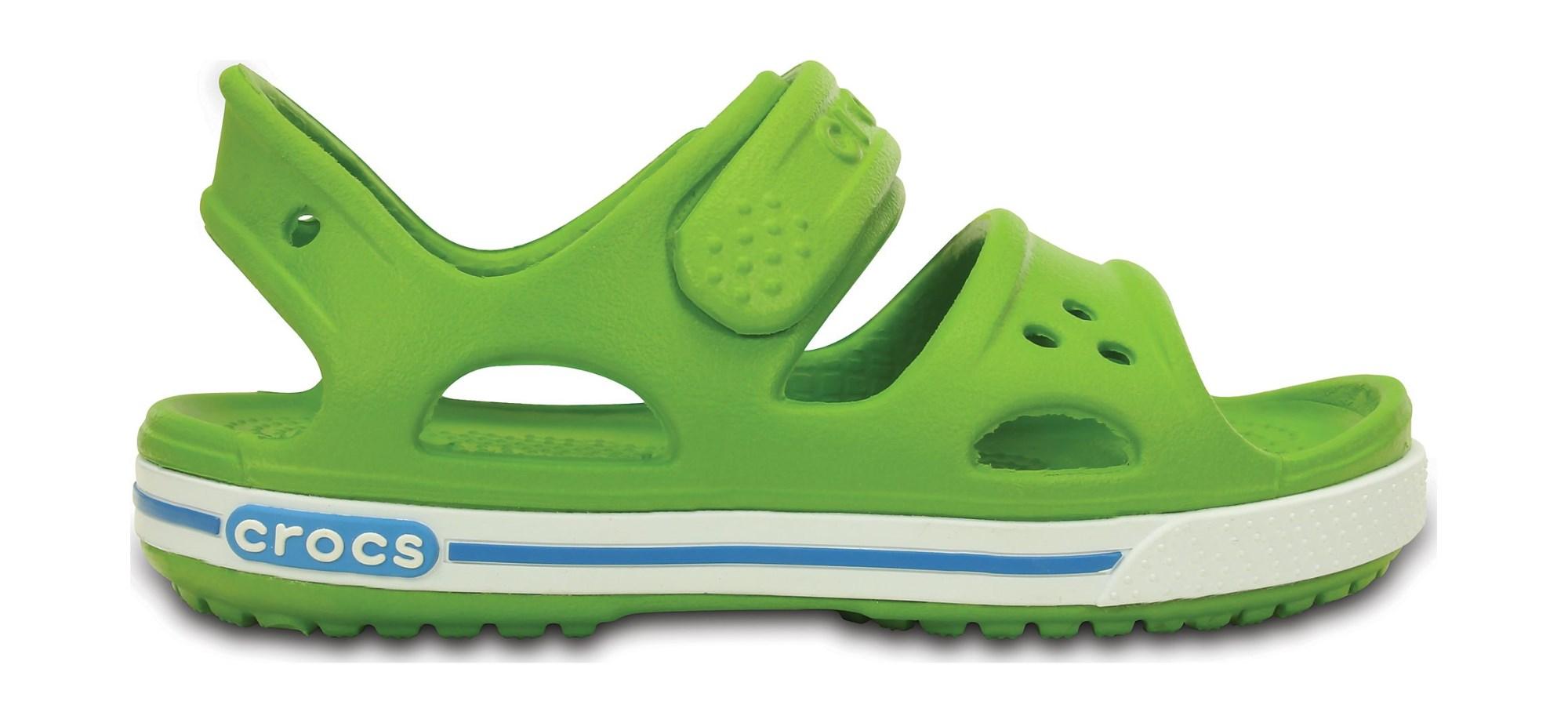 Crocs™ Kids' Crocband II Sandal PS Parrot Green/Ocean 21
