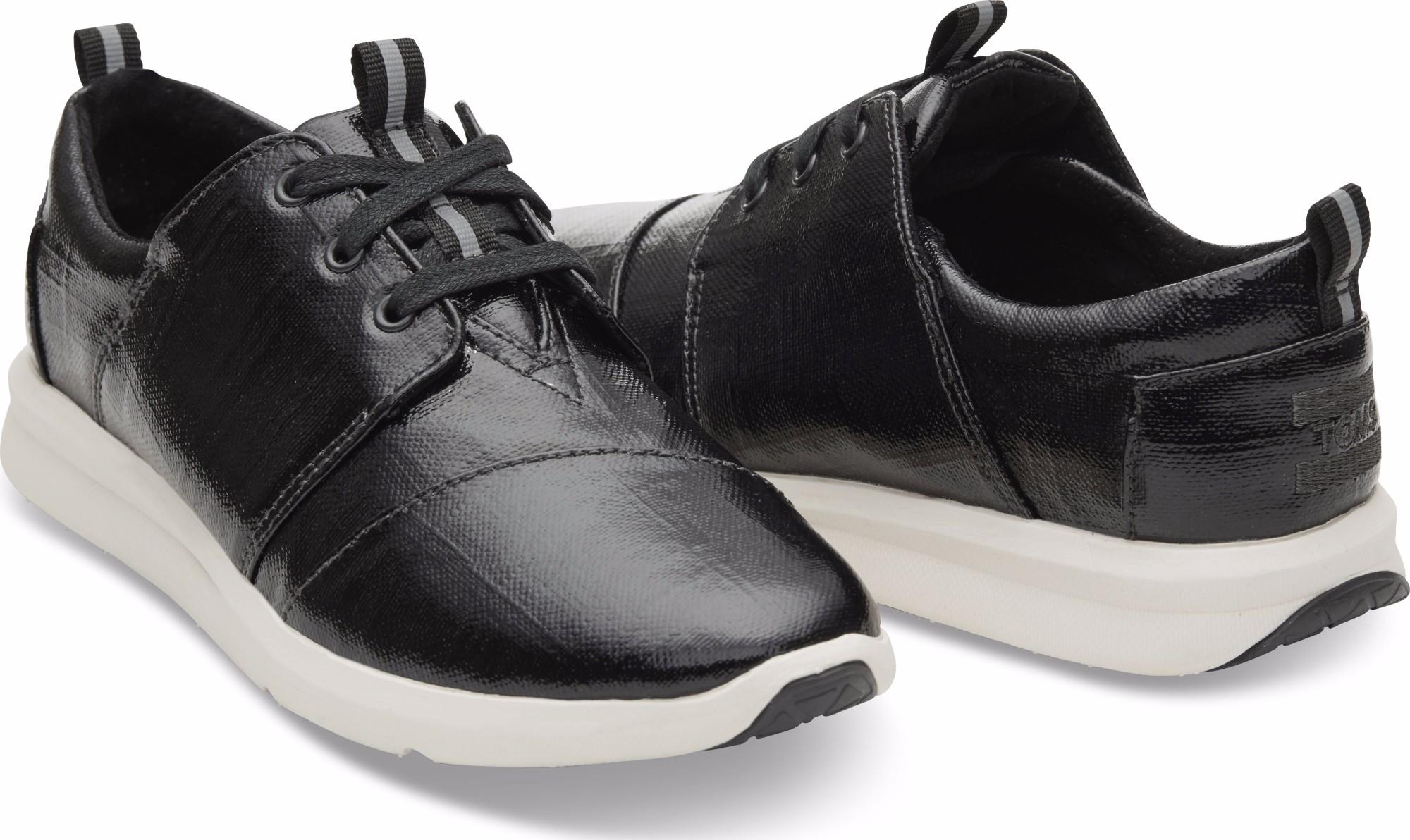TOMS Patent Linen Women's Del Rey Sneaker