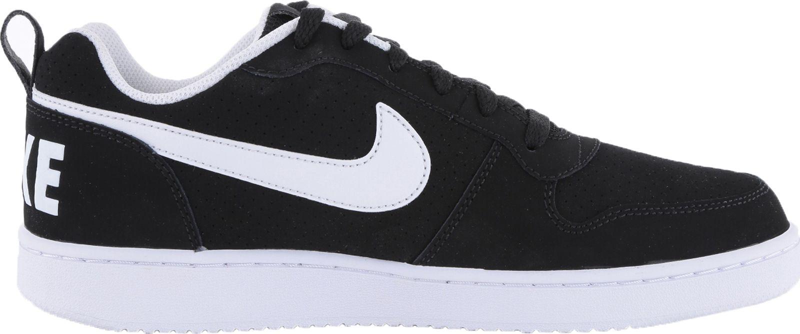 Nike Court Borough Low Black/White ...