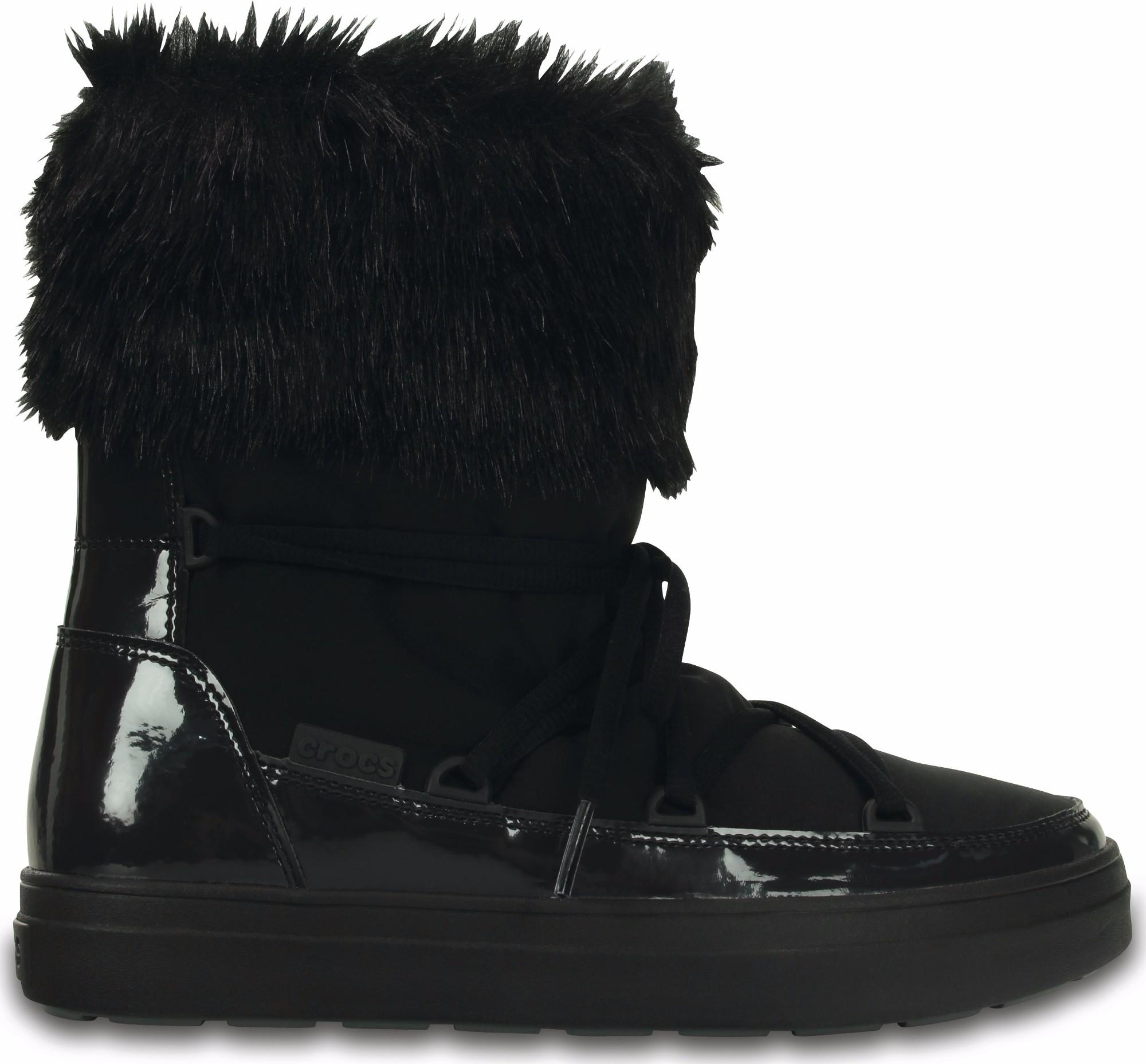Crocs™ Lodgepoint Lace Boot Black 35