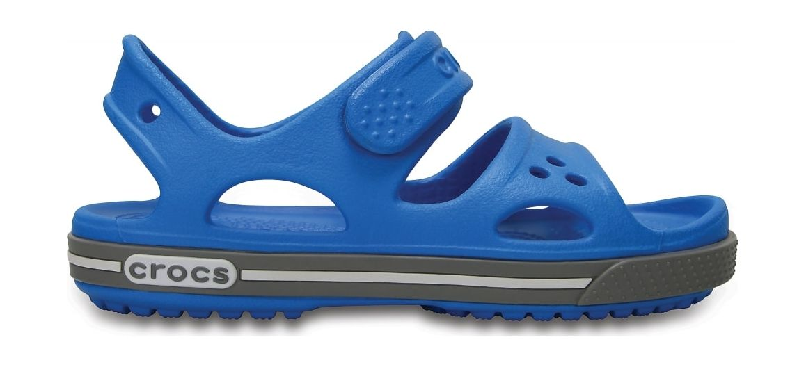 Crocs™ Kids' Crocband II Sandal PS Ocean/Smoke 21