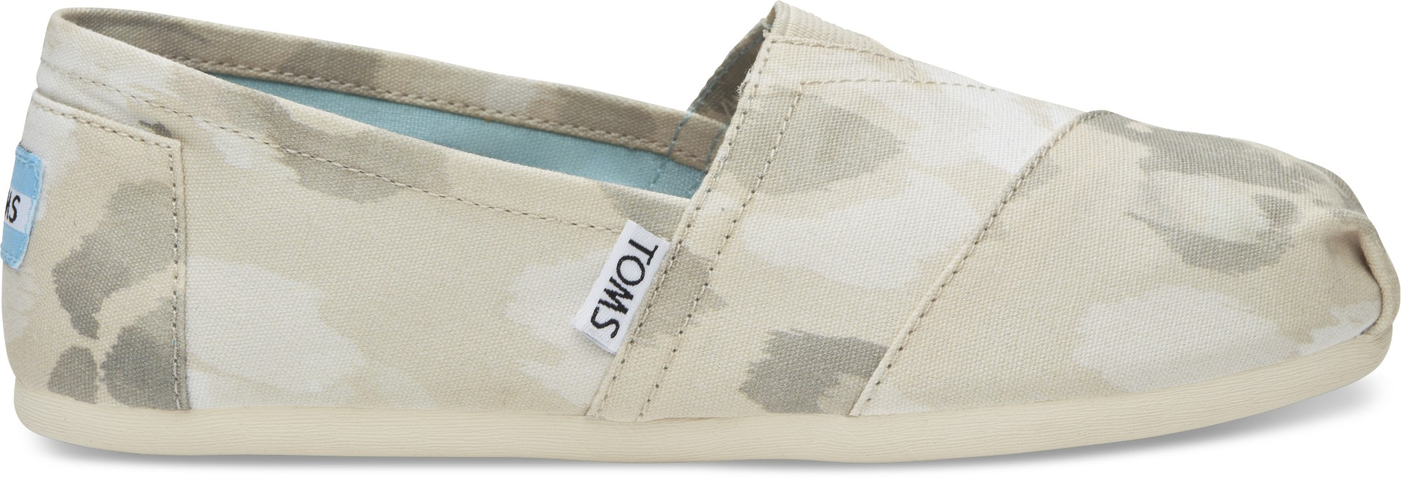 TOMS Watercolor Floral Women's Alpargata Natural 39