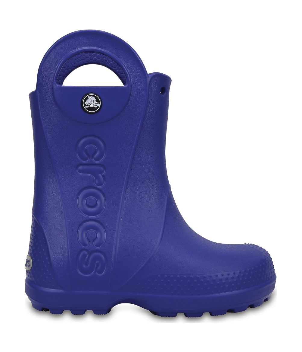Crocs™ Kids' Handle It Rain Boot Cerulean Blue 24
