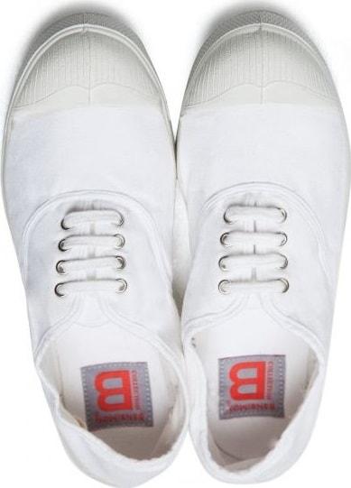 BENSIMON Tennis Lacets BLANC 41