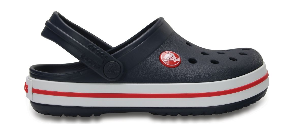 Crocs™ Kids' Crocband Clog Navy/Red 29
