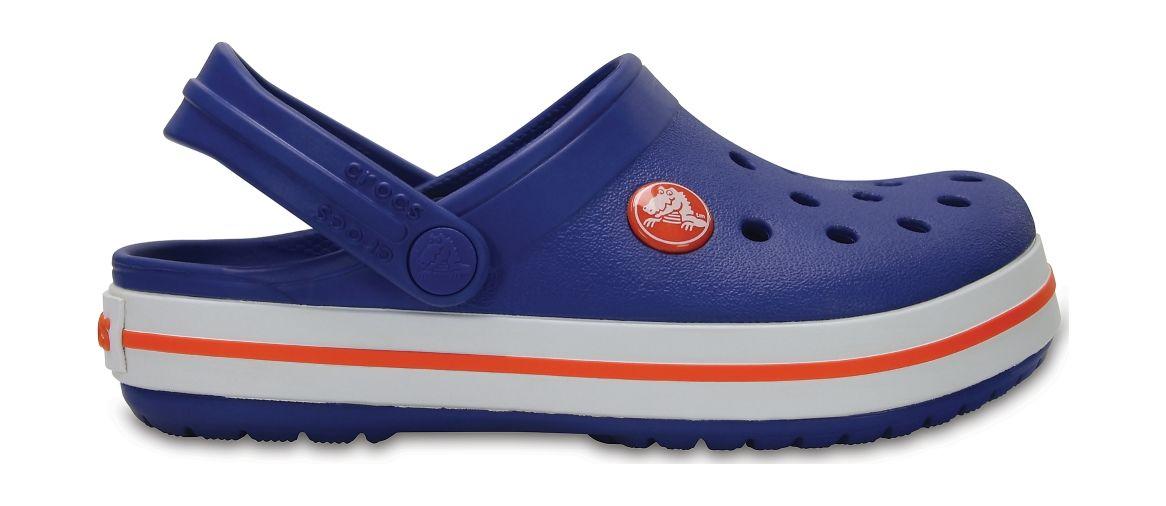 Crocs™ Kids' Crocband Clog Cerulean Blue 24
