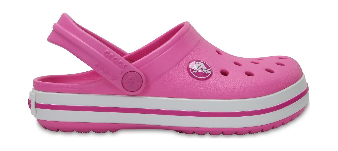 Crocs™ Kids' Crocband Clog Party Pink 22
