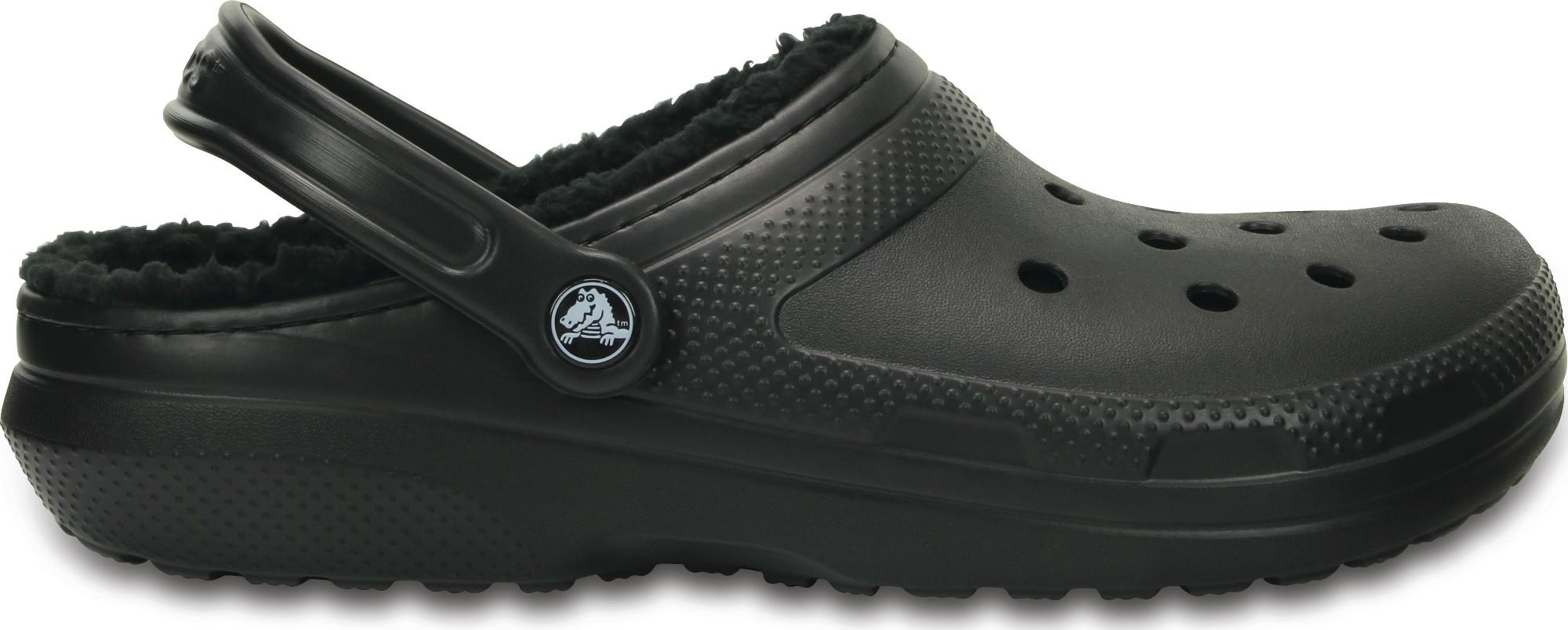 Crocs™ Classic Lined Clog Black/Black 44,5