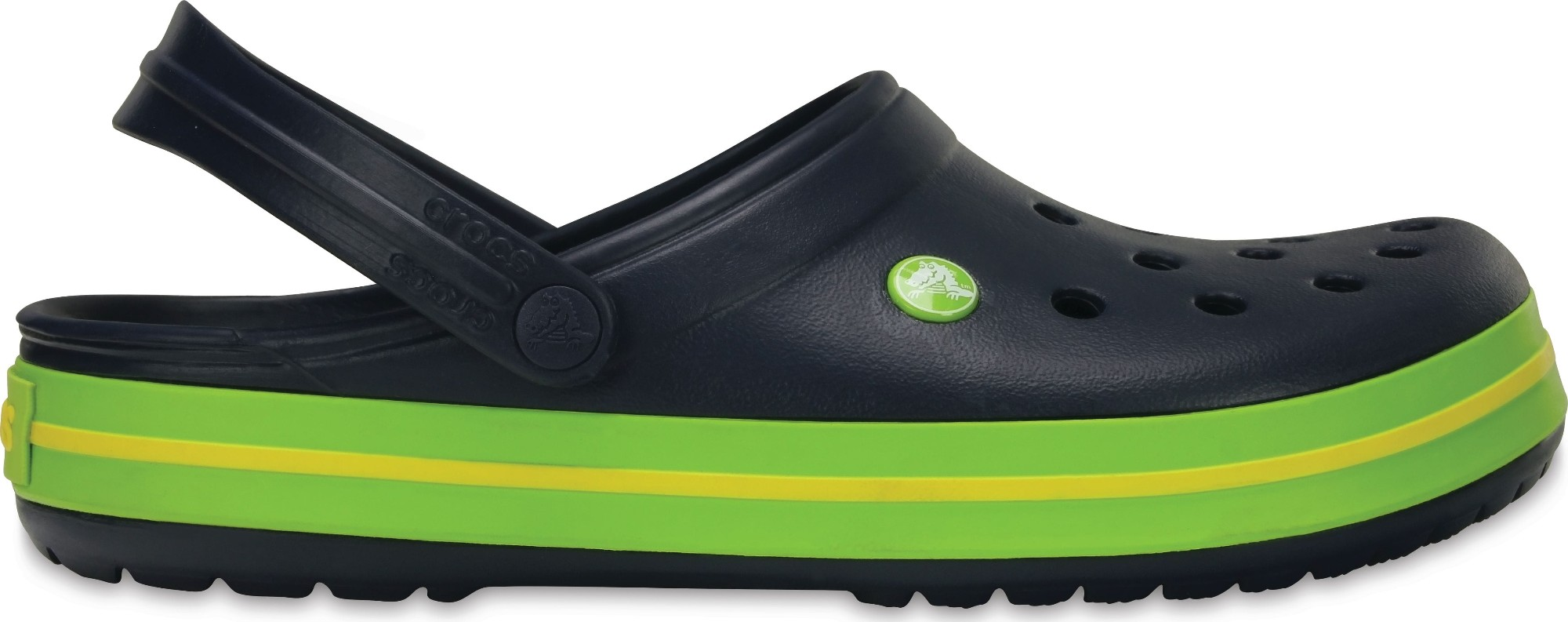Crocs™ Crocband™ Navy/Volt Green/Lemon 45,5