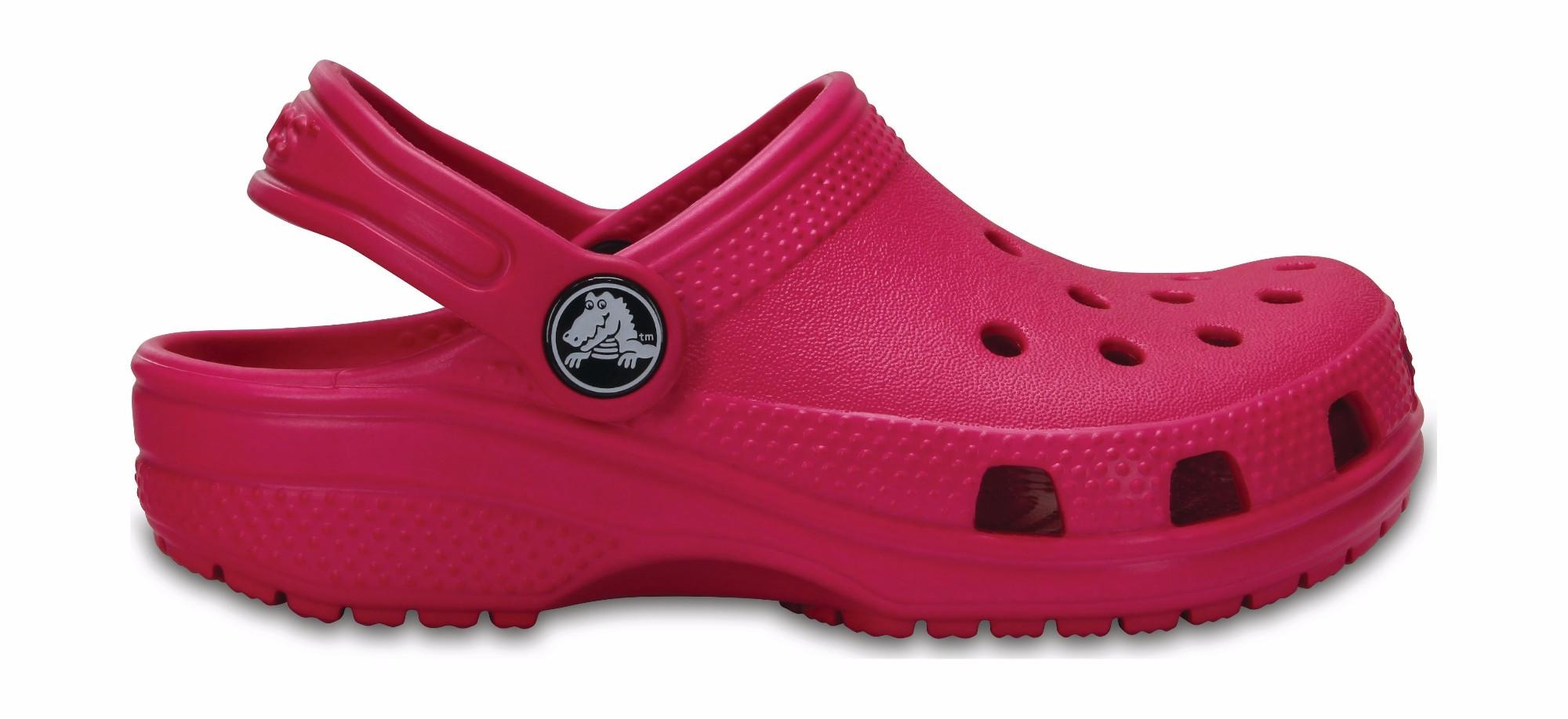 Crocs™ Kids' Classic Clog Candy Pink 29