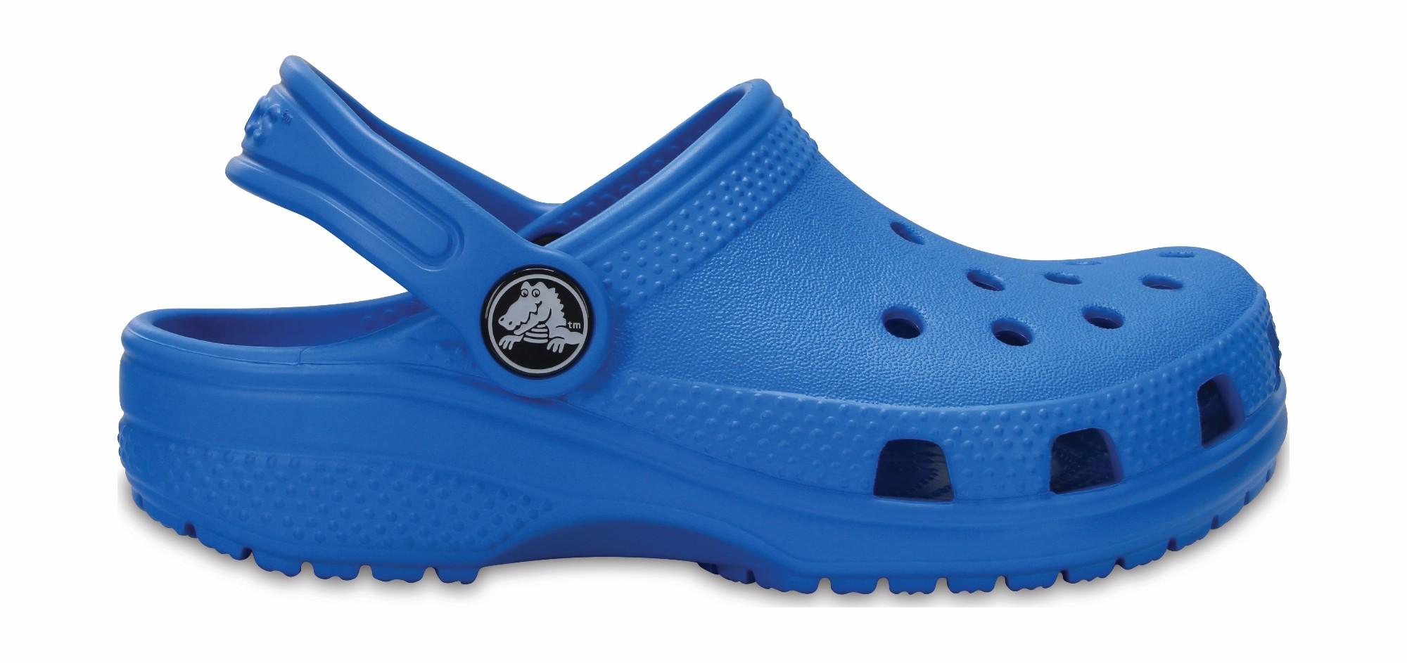 Crocs™ Kids' Classic Clog Ocean 26