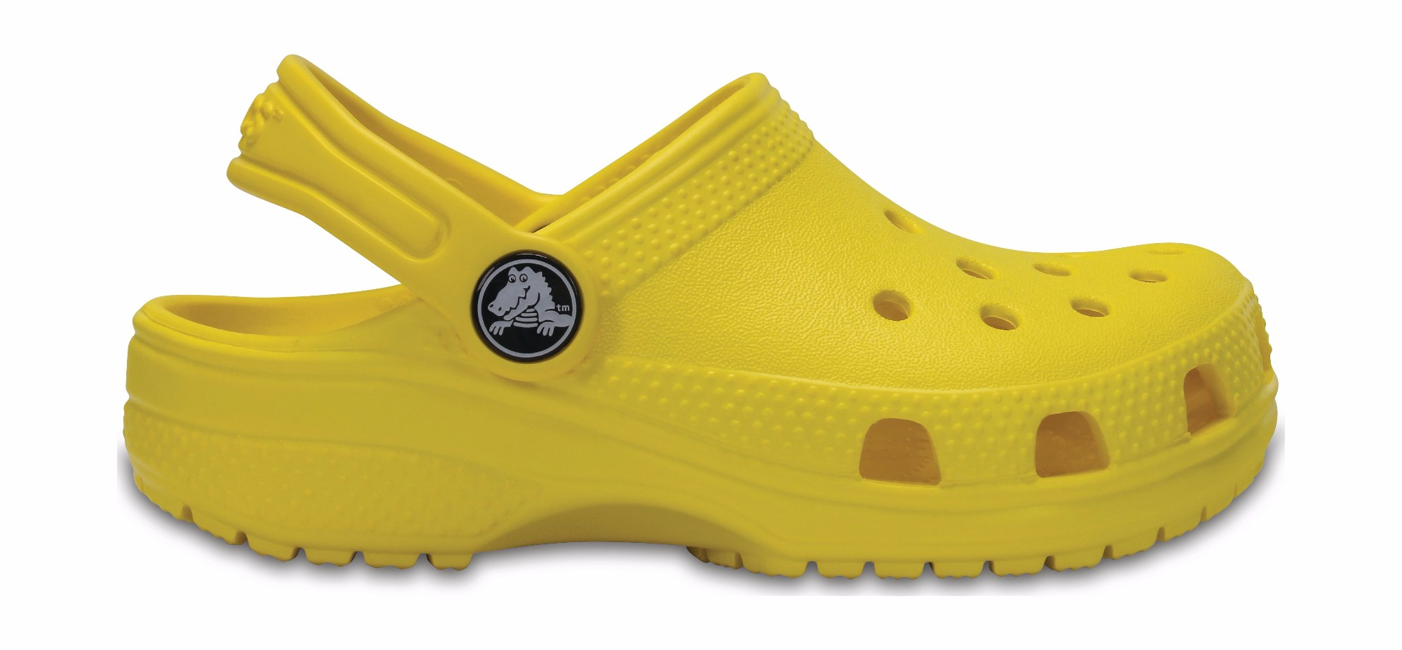 Crocs™ Kids' Classic Clog Lemon 29