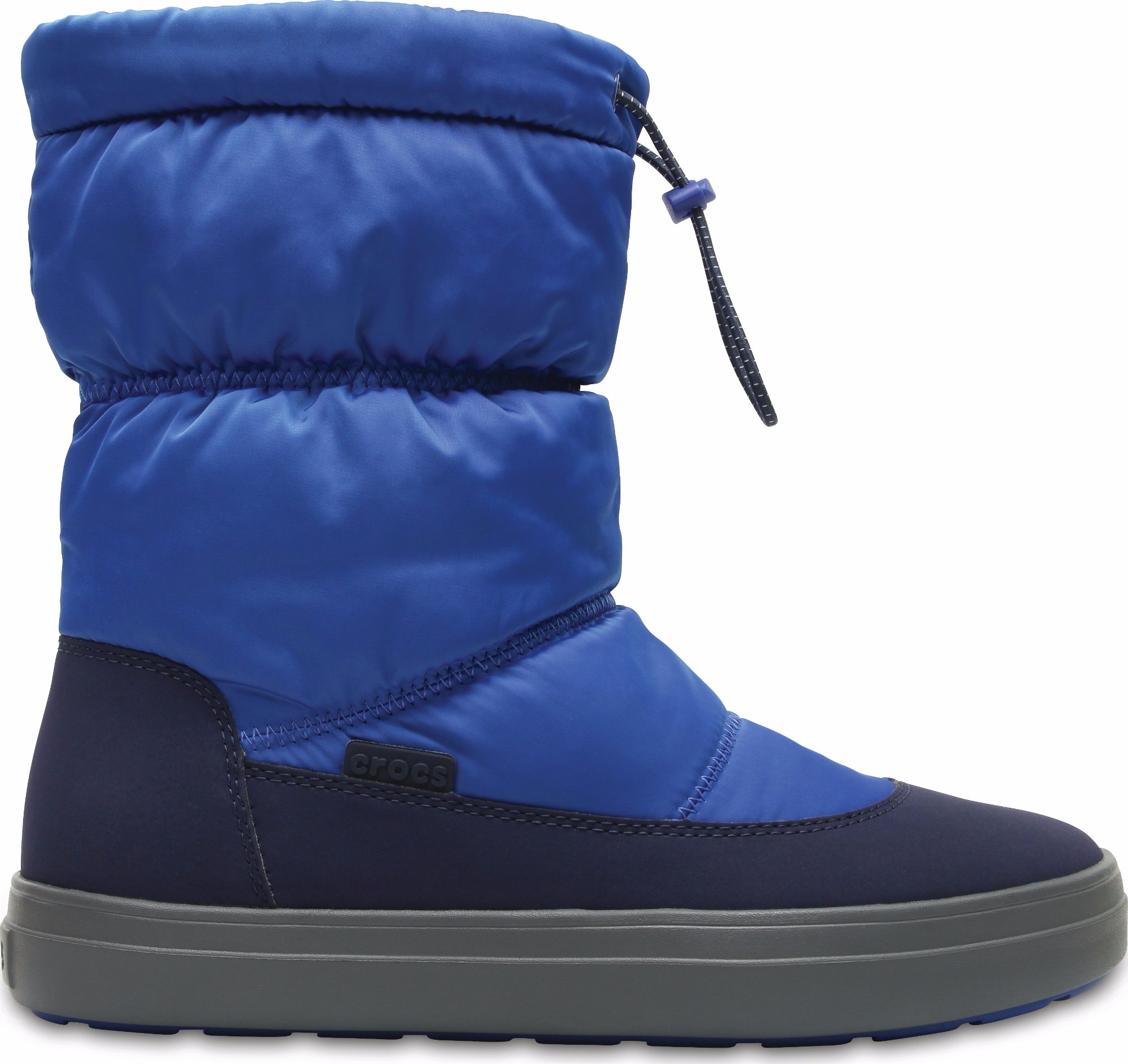 Crocs™ Lodgepoint Shiny Pull-On Boot Blue Jean/Navy 37,5