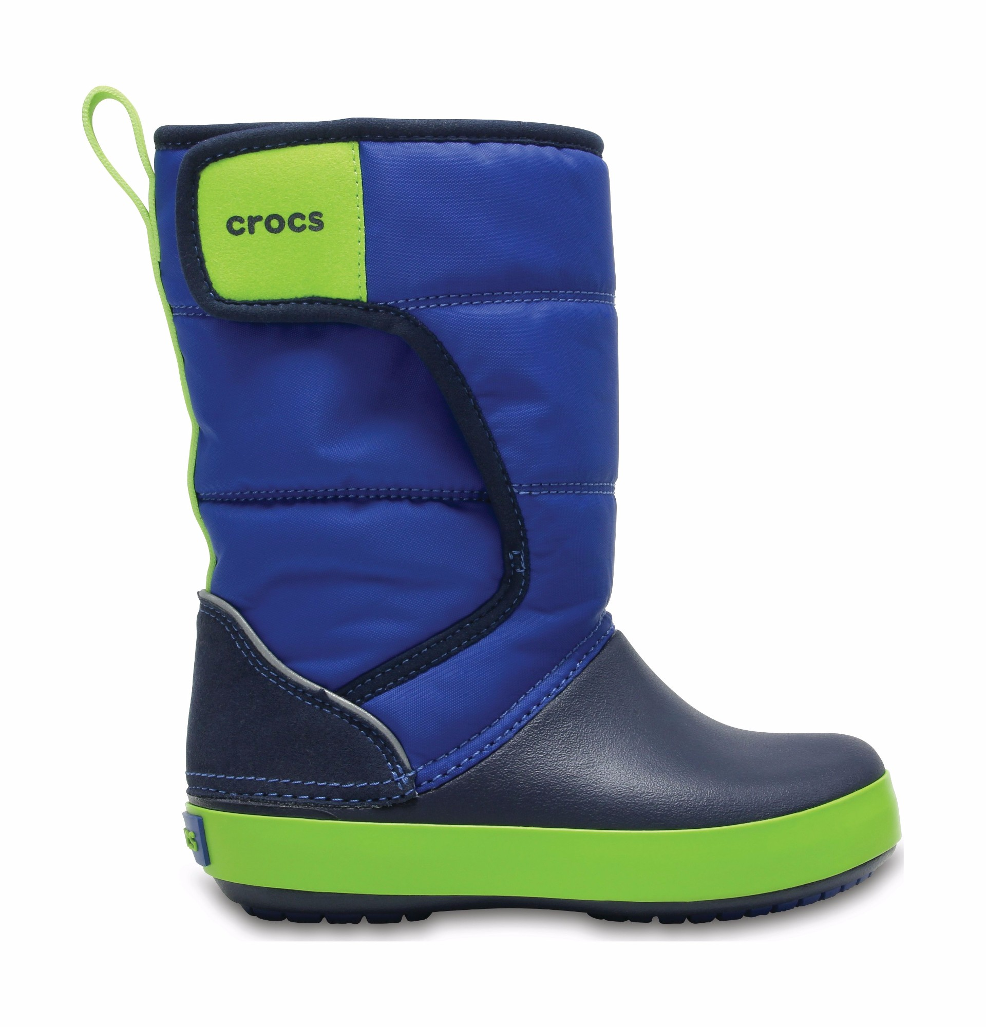 Crocs™ Lodgepoint Snow Boot Kid's Blue Jean/Navy 37,5