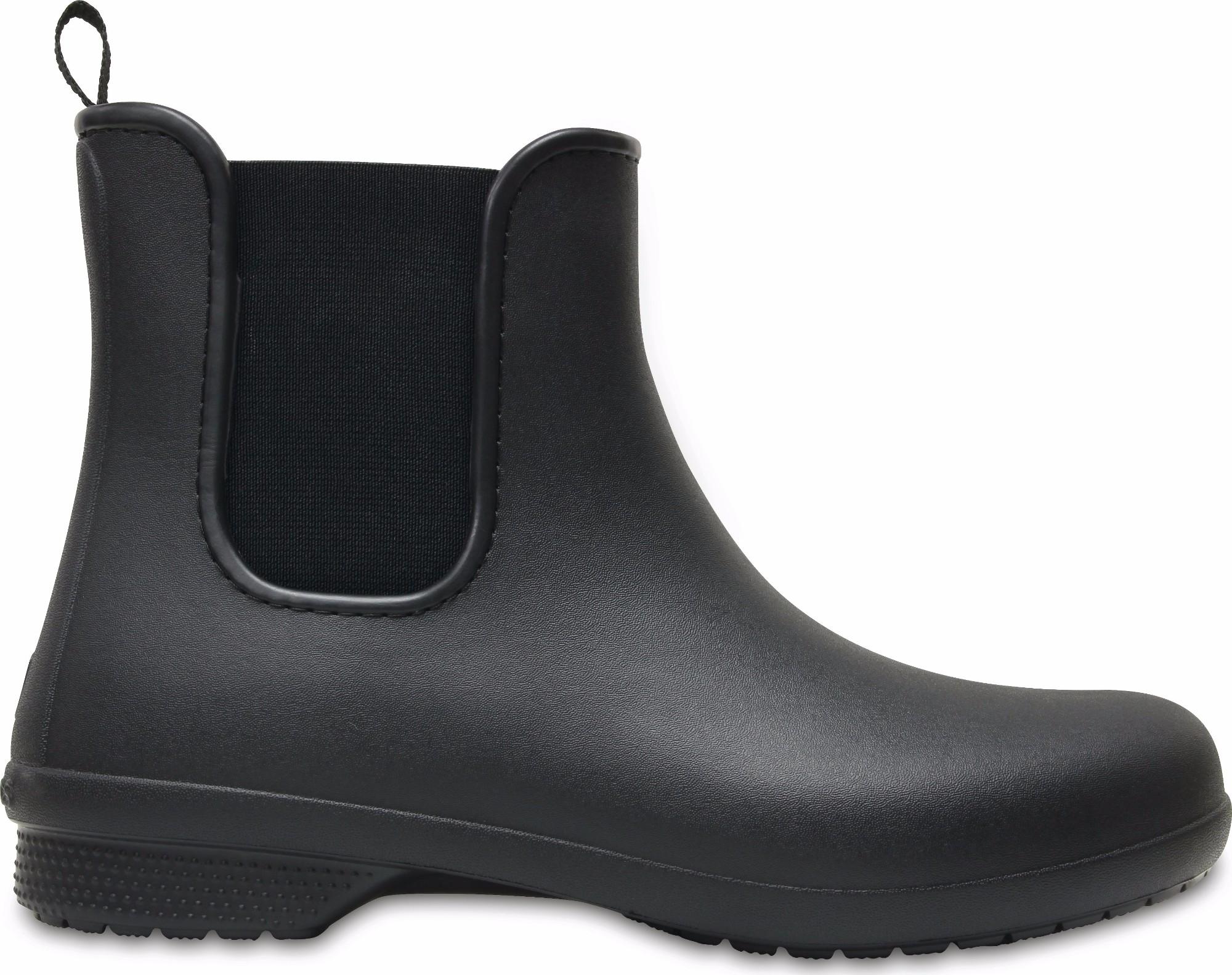 Crocs™ Freesail Chelsea Boot Black/Black 35