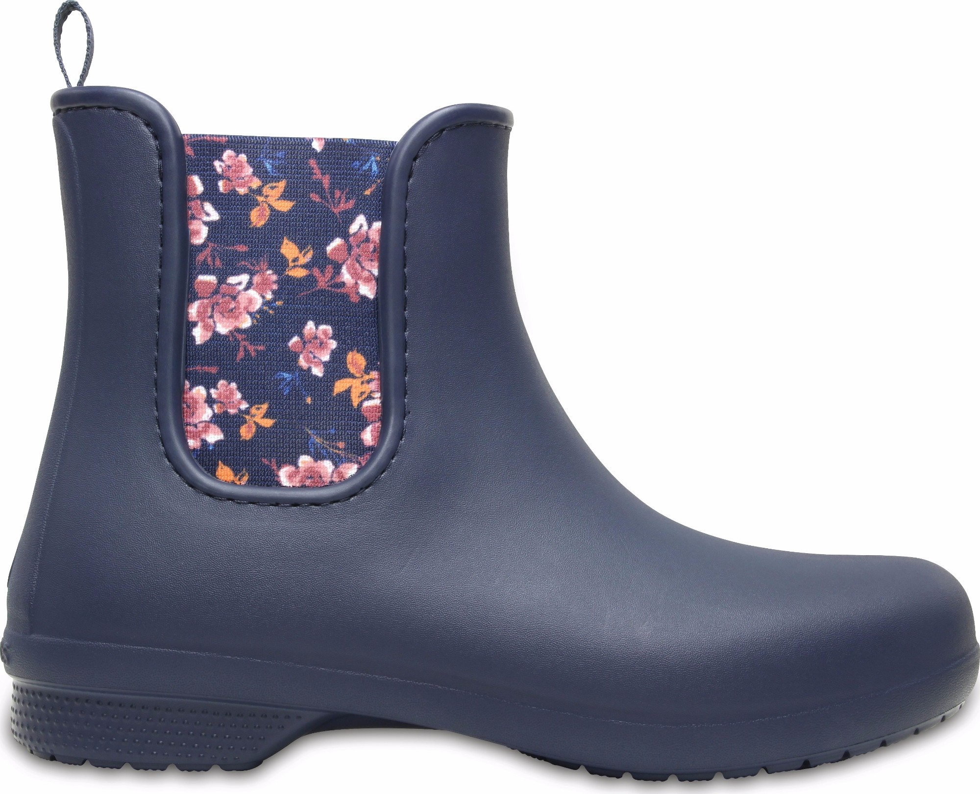 Crocs™ Freesail Chelsea Boot Navy/Floral 35