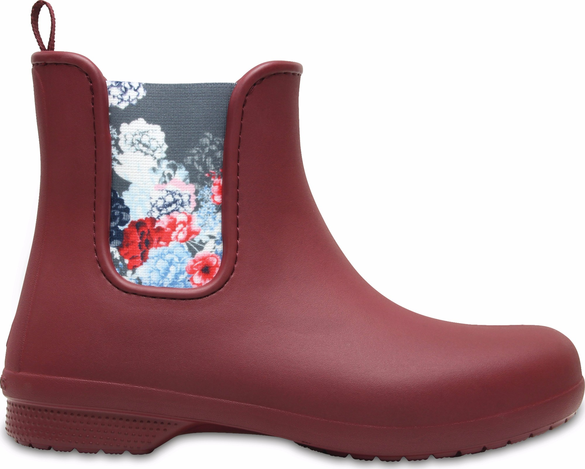 Crocs™ Freesail Chelsea Boot Garnet 35