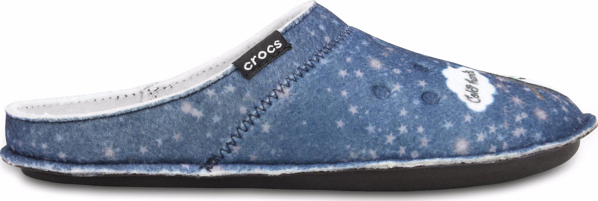 Crocs™ Classic Graphic Slipper Navy 41