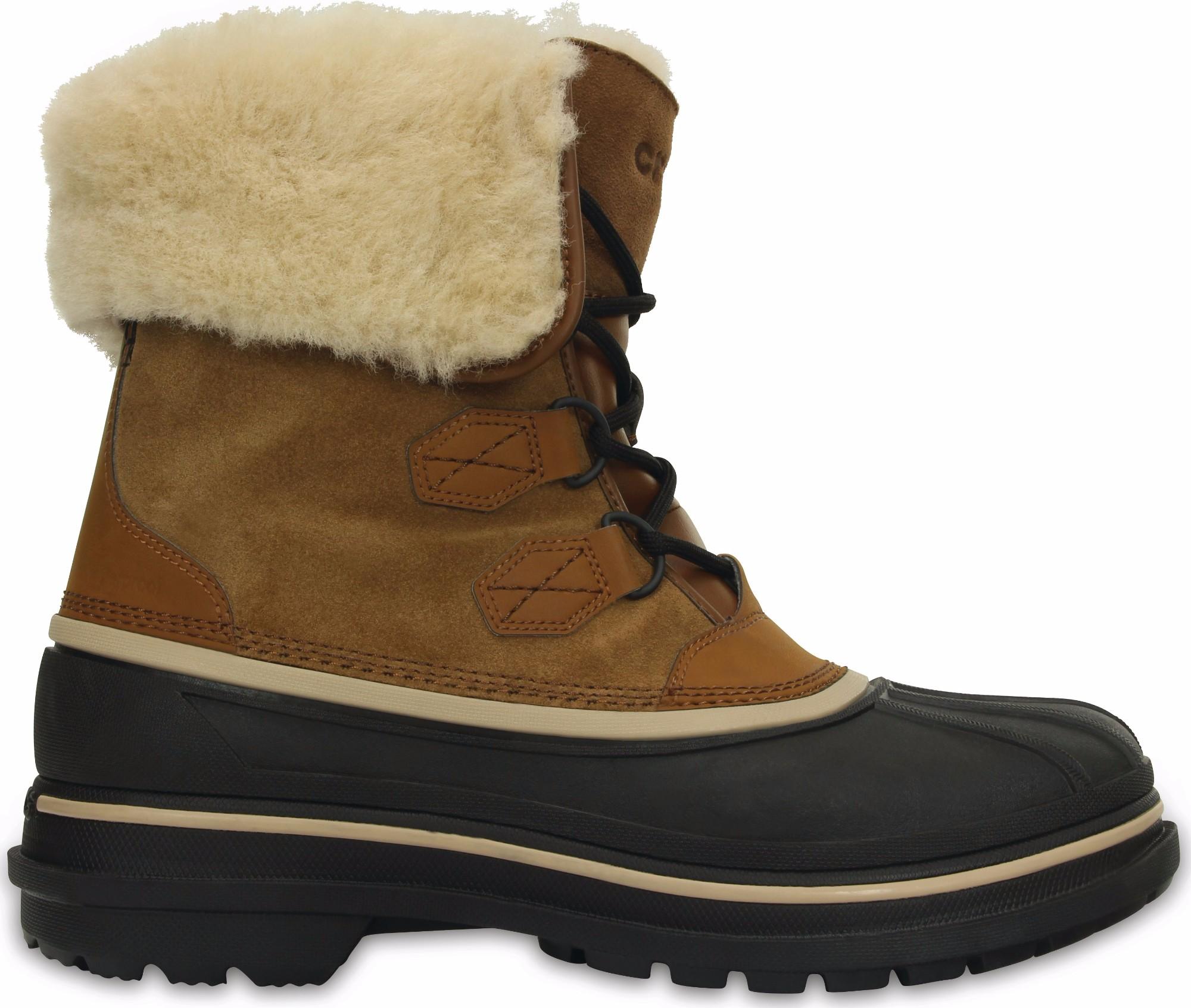 Crocs™ AllCast II Luxe Boot M Wheat/Black 44,5