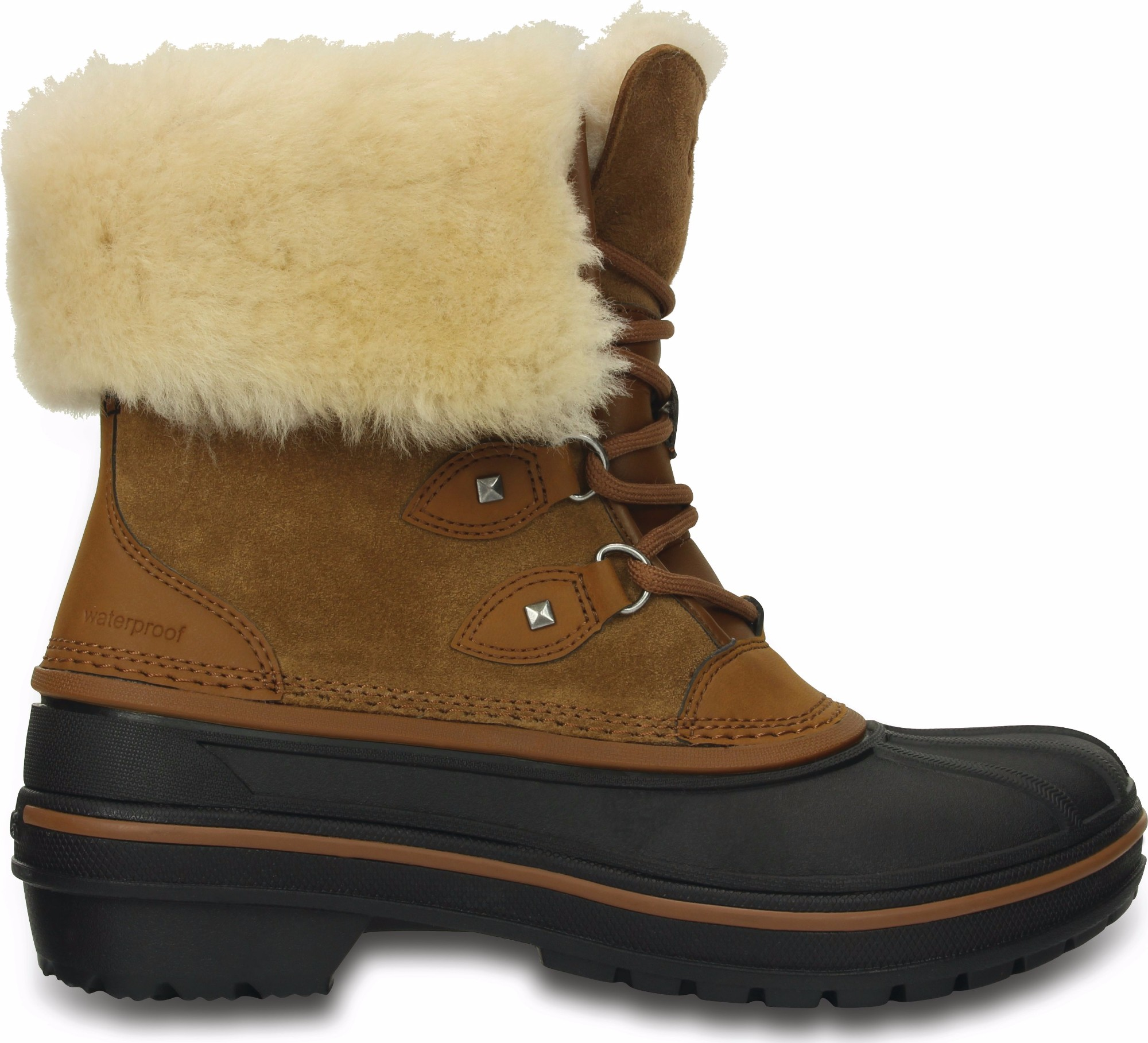 Crocs™ AllCast II Luxe Boot Women's Wheat 41