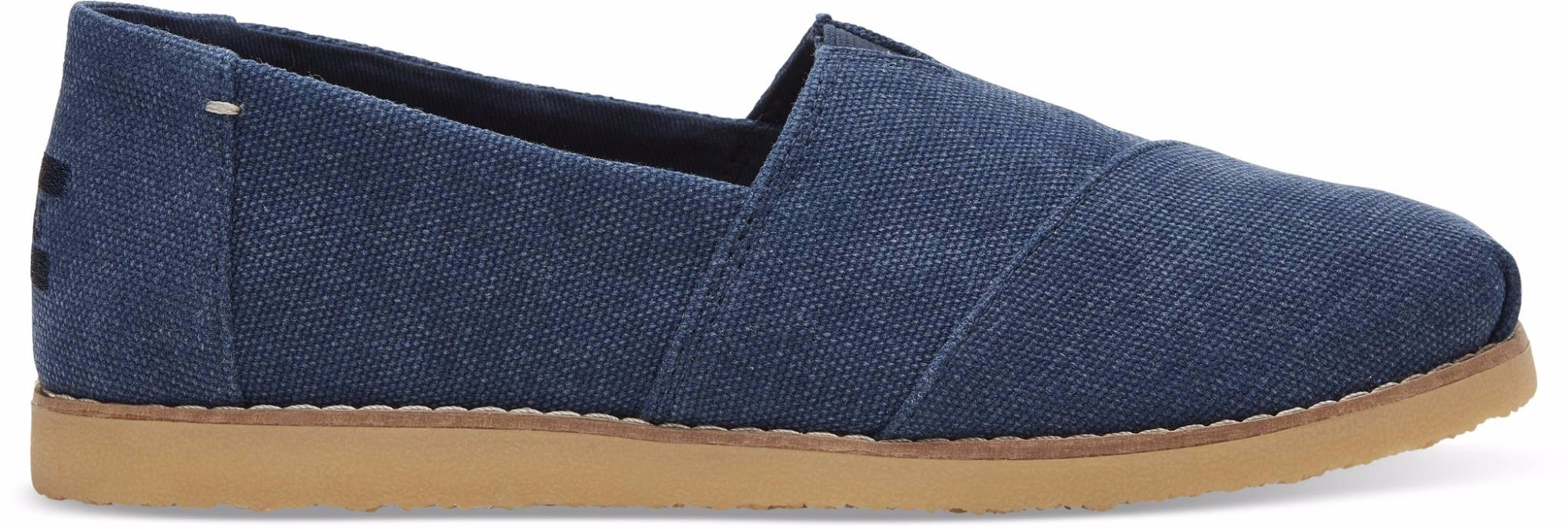 TOMS Washed Canvas Women's Alpargata Crepe Navy 40