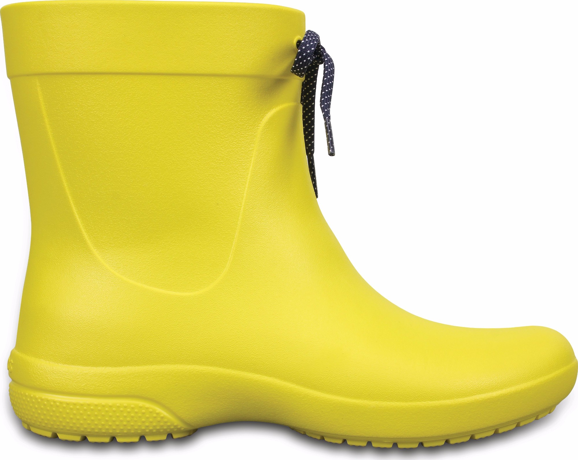 Crocs™ Freesail Shorty Rain Boot Lemon 35
