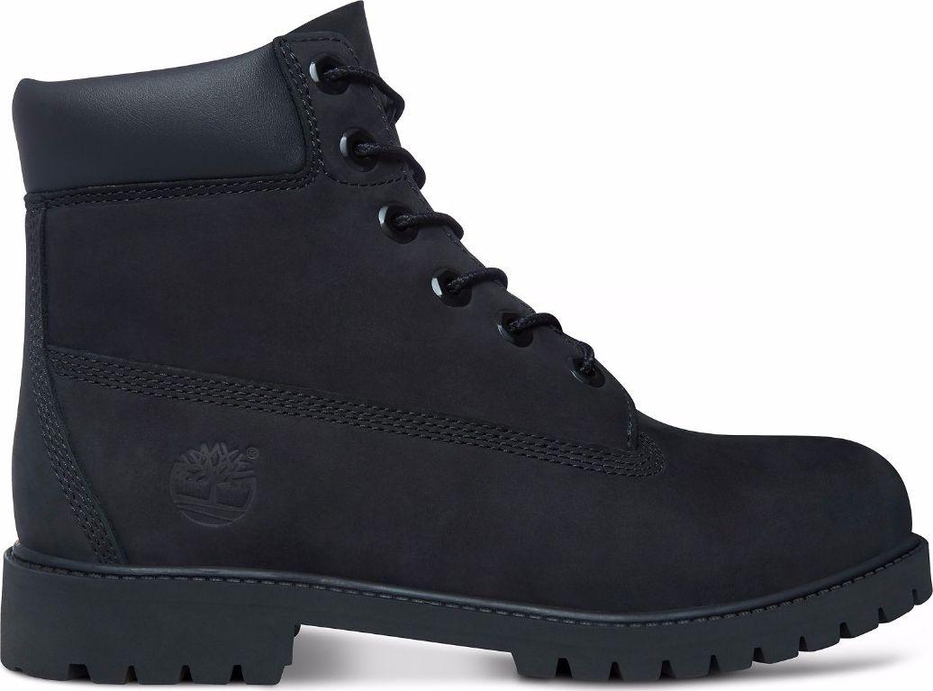Timberland 6 In Premium Boot Junior's Black Nubuck 37,5