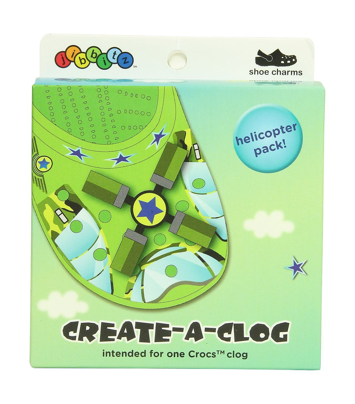 Crocs™CAMO HELICOPTER DECK OUT PACK