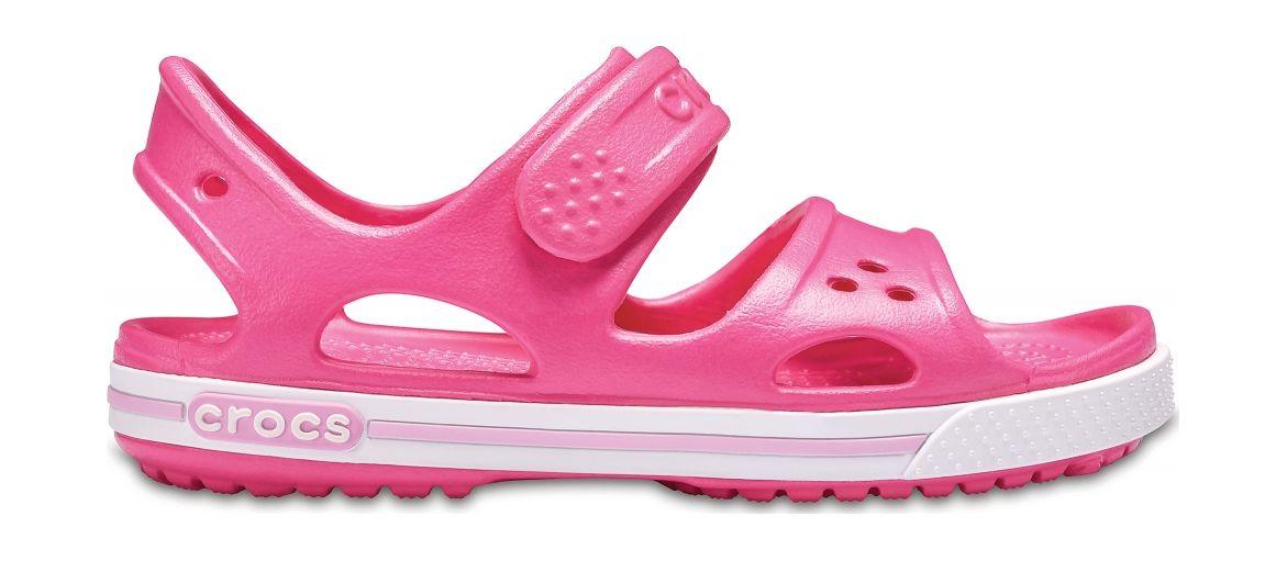 Crocs™ Kids' Crocband II Sandal PS Paradise Pink/Carnation 30