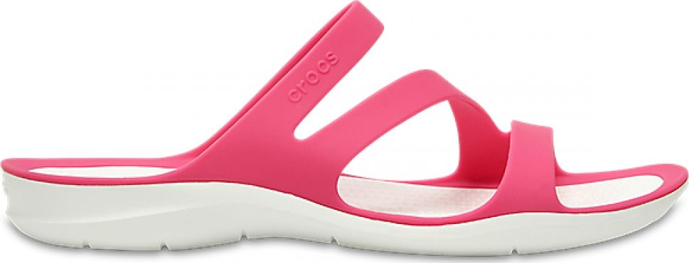 Crocs™ Women's Swiftwater Sandal Paradise Pink/White 42,5