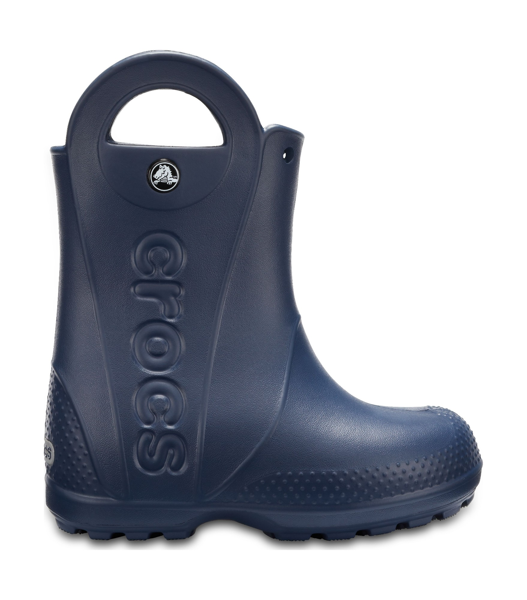 Crocs™ Kids' Handle It Rain Boot Navy 30