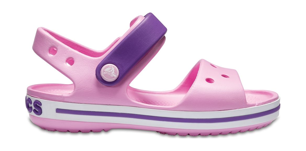 Crocs™ Kids' Crocband Sandal Carnation/Amethyst 28