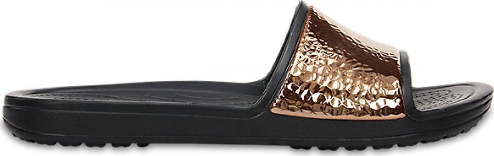 82eab6704dfe1a Previous. Crocs™ Sloane Hammered Metallic Slide ...