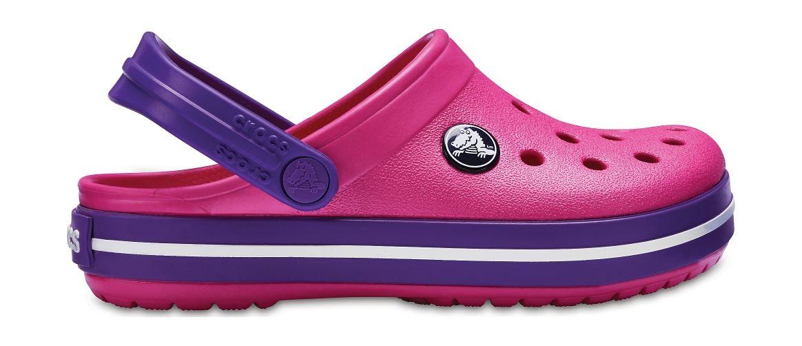 Crocs™ Kids' Crocband Clog Paradise Pink/Amethyst 25