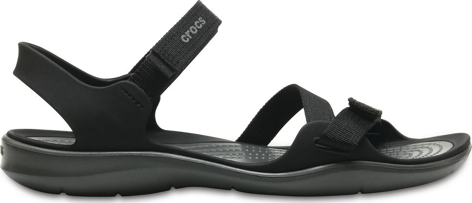 Crocs™ Women's Swiftwater Webbing Sandal Black 39,5