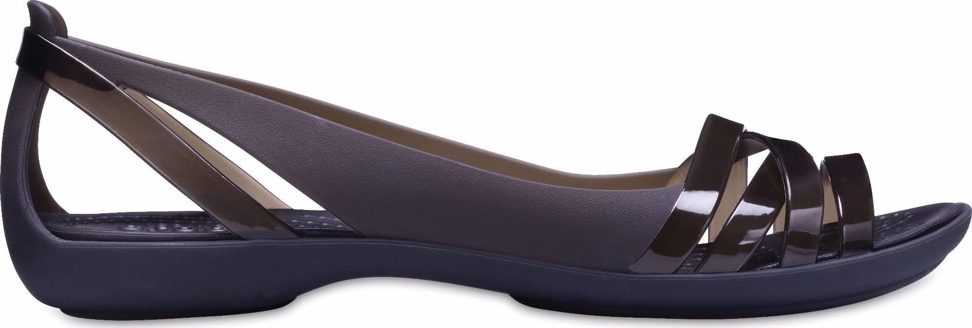 Crocs™ Isabella Huarache II Flat Black/Black 39,5