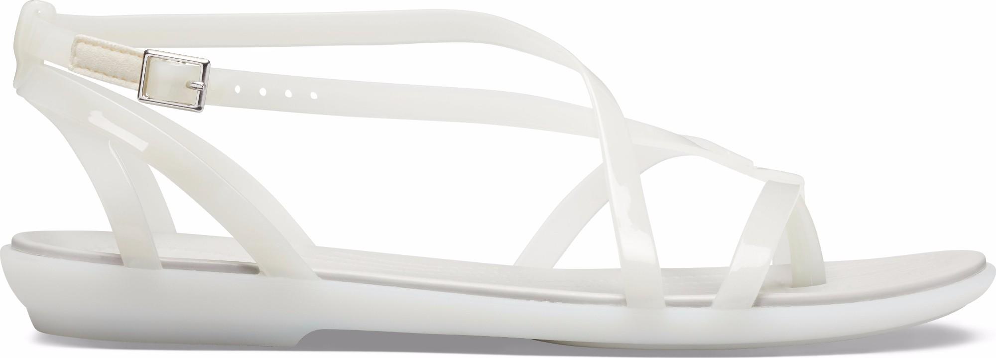 Crocs™ Isabella Gladiator Sandal Oyster/Pearl White 36,5