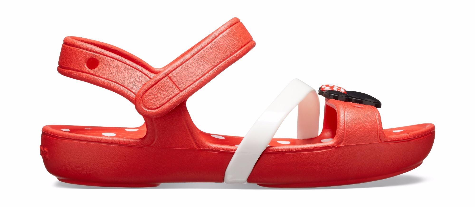 Crocs™ Lina Minnie Sandal Flame 28