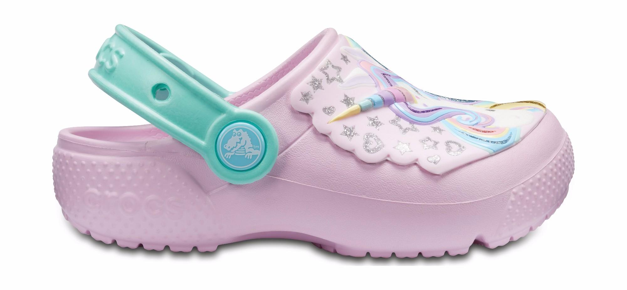 Crocs™ Funlab Clog Ballerina Pink/New Mint 28