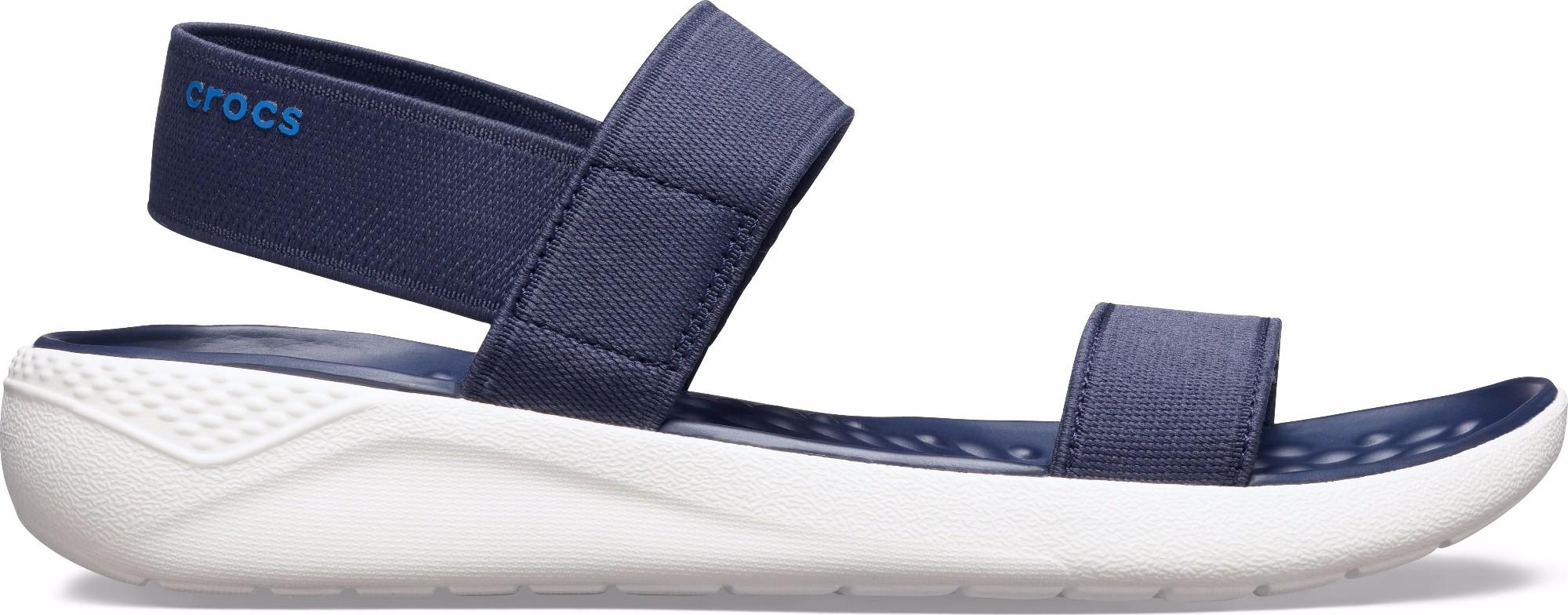 Crocs™ Women's LiteRide Sandal Navy/White 39,5