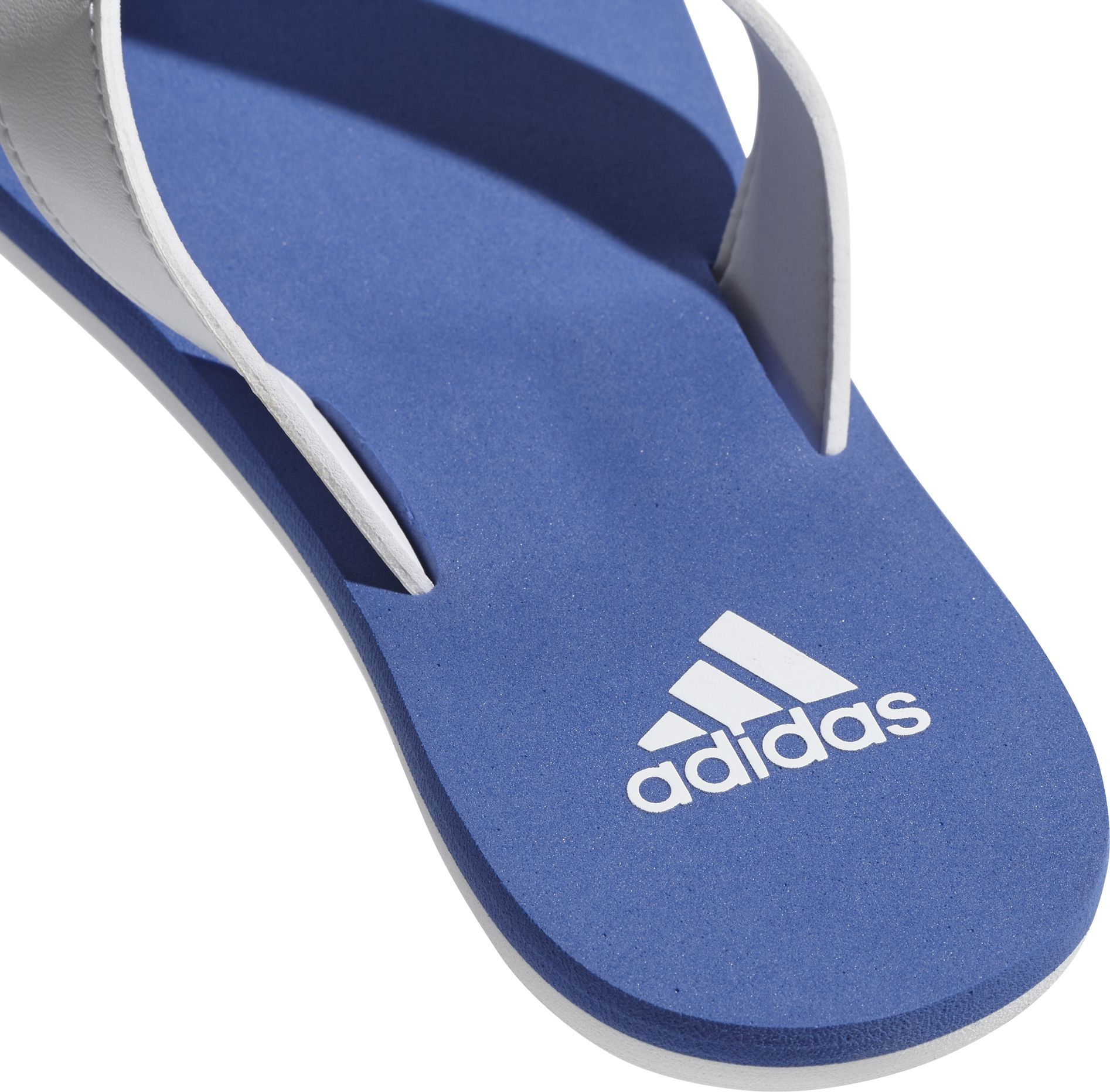 42005b212449 ... ADIDAS Beach Thong 2 K White Hi-Res Blue ...