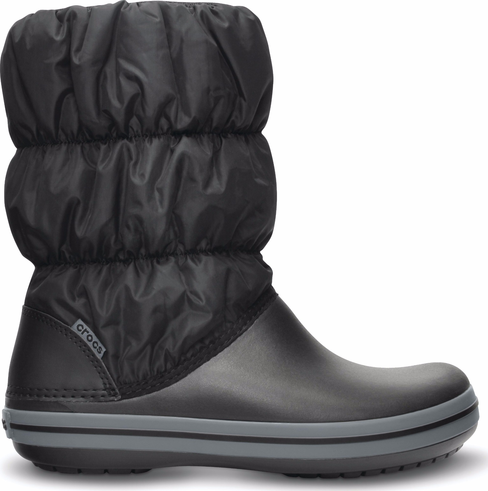 Crocs™ Winter Puff Boot Black/Charcoal 35