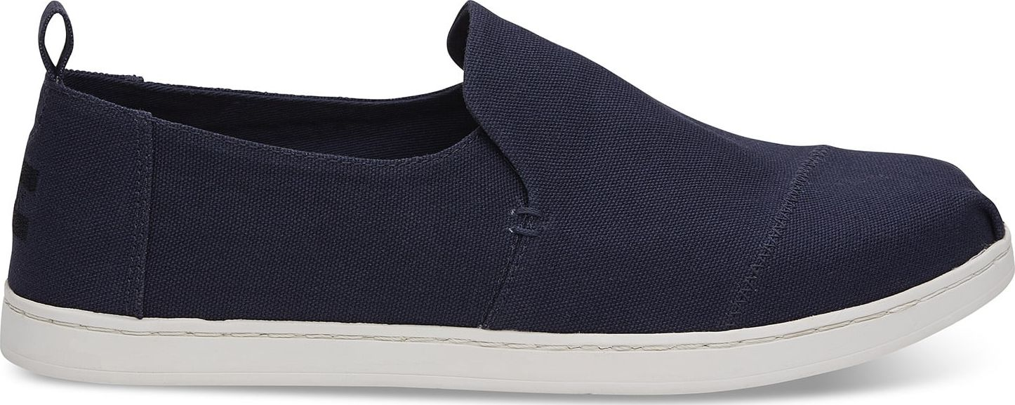 TOMS Canvas Men's Deconstructed Alpargata Navy 45