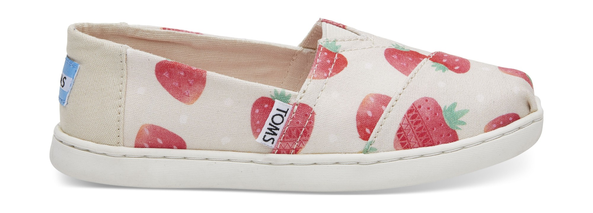 TOMS Strawberries And Cream Junior's Alpargata Birch 37