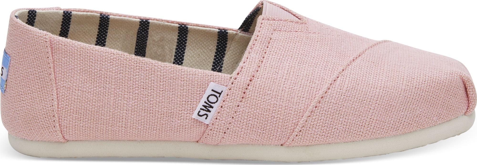 TOMS Heritage Canvas Women's Alpargata Powder Pink 37