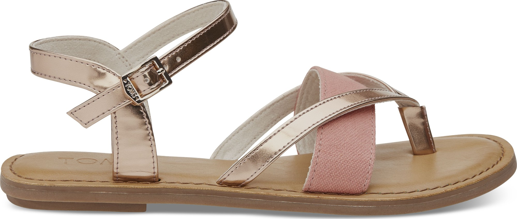TOMS Specchio Oxford Women's Lexie Sandal Rose Gold 40